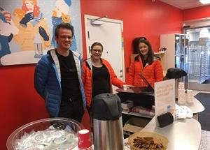 Sweden: Tenants of the Linero housing area learn about energy efficiency at the local supermarket