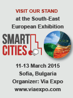"CITyFiED @ the SEE Exhibition ""Smart Cities"", Sofia, Bulgaria on 11-13 March 2015. Come and visit us at the CARTIF stand!"