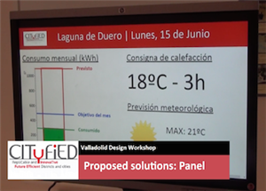 CITyFiED Visualization Solutions User Tests - Valladolid