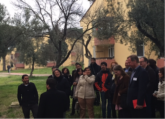 Life at the coalface: CITyFiED consortium & cities visit to Soma demo site in Turkey
